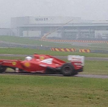 Fiorano: Vettel, primi giri con la Ferrari