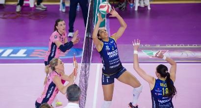 Volley, playoff A1 femminile: Pomì show, porta Conegliano a gara-5