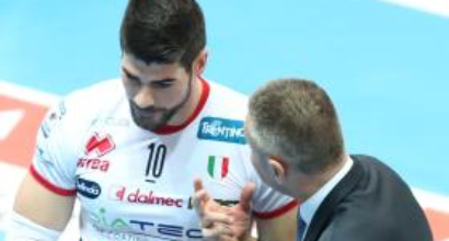 Volley, SuperLega: Trento demolisce Milano