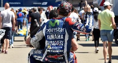 """MotoGP al Mugello, Lorenzo: """"Io fortunato, Rossi no"""""""