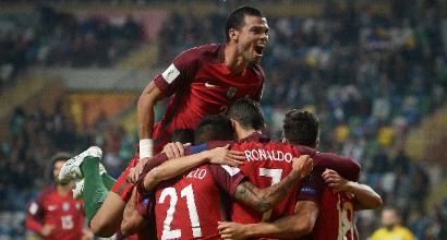 Russia 2018, qualificazioni: Portogallo esagerato, Svizzera corsara