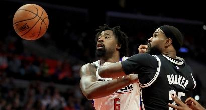 Nba: i Clippers volano, Harden guida i Rockets