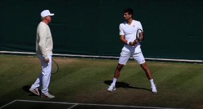 Becker e Djokovic (LaPresse)