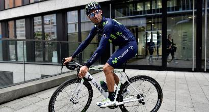 Tour de France: frattura alla rotula, Valverde si ritira