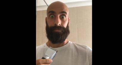 Inter nuovo look per Borja Valero: la barba non c'è più
