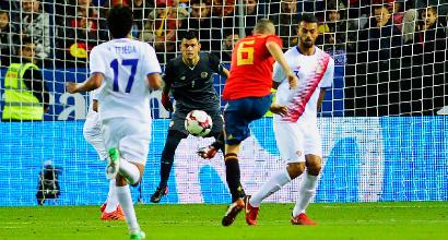 Amichevoli nazionali: manita Spagna, battuto il Costa Rica 5-0