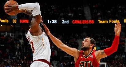 Basket, Nba: Cleveland allunga la striscia, Irving e Horford lanciano Boston