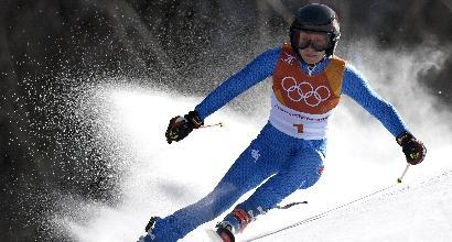 Olimpiade, gigante: medaglia di bronzo per Federica Brignone