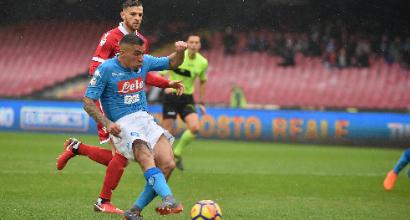 Napoli-Spal 1-0: Allan-gol, Sarri si riprende il primato
