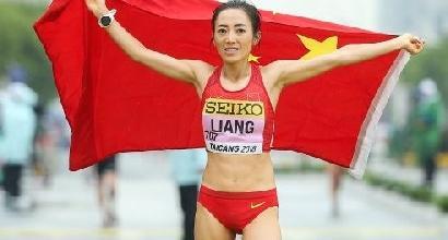 50 km marcia: Rui Liang super, record mondiale