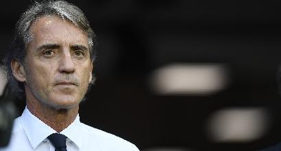 """Italia, Mancini: """"Loro più forti, contento per la personalità dei giovani"""""""