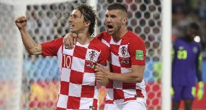 Mondiali 2018, Croazia-Nigeria 2-0: decidono l'autorete di Etebo e il rigore di Modric