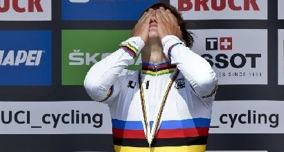 Mondiali ciclismo, corsa in linea juniores: Evenepoel già nella storia, Fancellu bronzo
