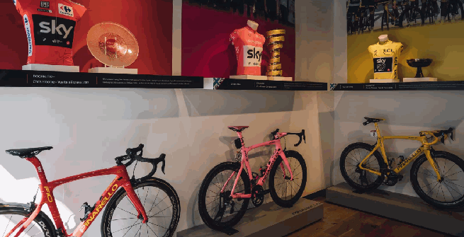 Ciclismo: rubato il trofeo del Tour de France di Geraint Thomas