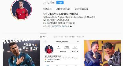Juve, Cristiano Ronaldo Re di Instagram: è il più seguito del mondo