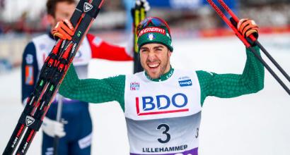 Sci di fondo, Tour de Ski: Pellegrino secondo nella sprint