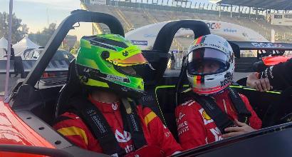 Vettel e Schumacher Jr. fanno già sognare: secondi nella corsa dei campioni