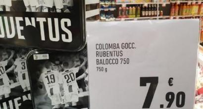 """Scrive """"Rubentus"""" sulla colomba pasquale, commesso Conad rischia il posto"""