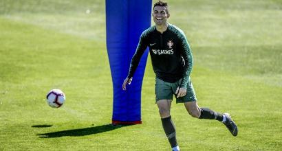 Qualificazioni Euro 2020, il grande calcio su Mediaset: il ritorno di CR7 col Portogallo e il big match Olanda-Germania