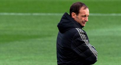 La Juventus esonera Allegri: è ufficiale