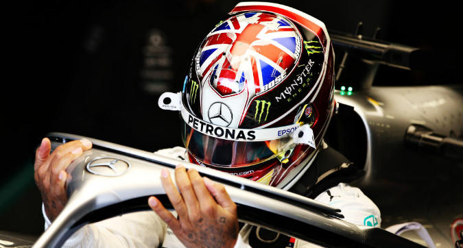 F1 Gran Bretagna, Hamilton: