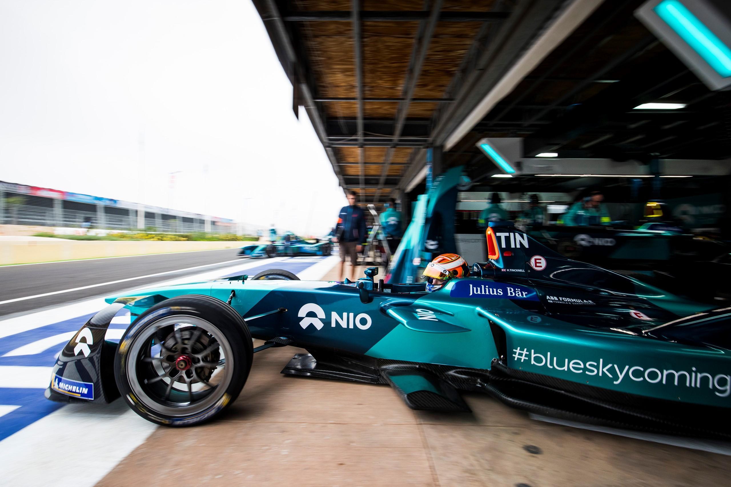 FormulaE, Rookie test: Muller vola, Giovinazzi sgomita