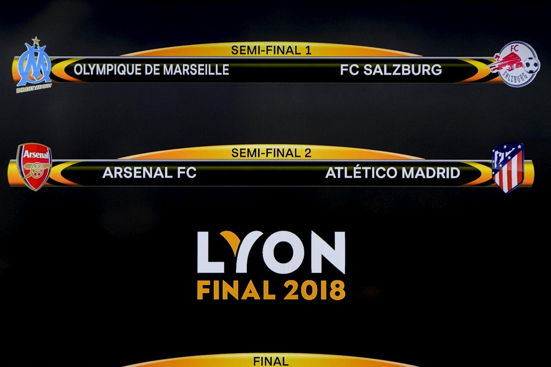Europa League: ecco le semifinali