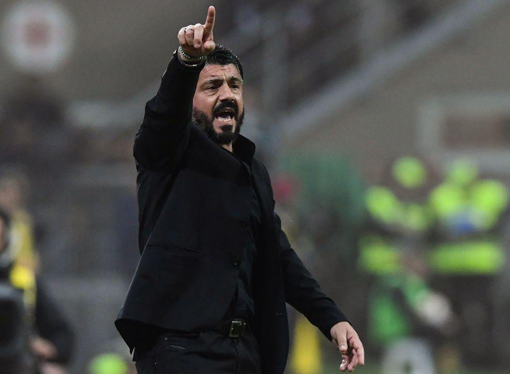 Gattuso 5 - Il Milan del 1° tempo è inguardabile. Lo corregge, ma non basta