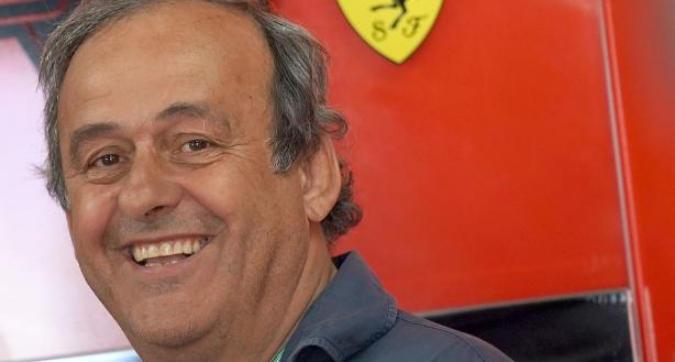 Platini ospite della Ferrari