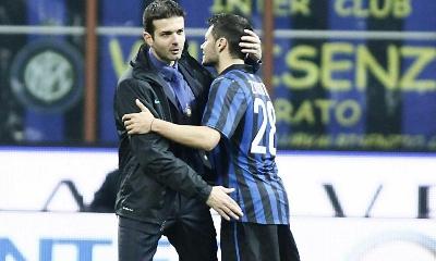 Stramaccioni e Zarate, Inter