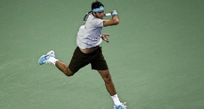 Tennis: super Del Potro a Shanghai, eliminato Nadal