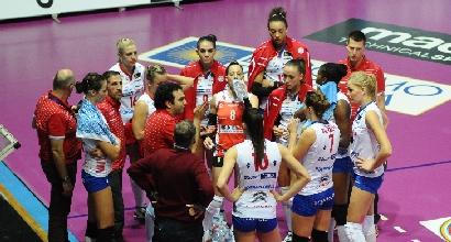 Bergamo volley, foto tratta dal sito ufficiale