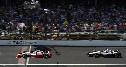 Juan Pablo Montoya fa il bis alla 500 Miglia di Indianapolis