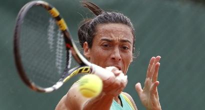 Roland Garros: impresa Arnaboldi, sorriso Schiavone
