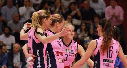 Volley, playoff A1 femminile: Bergamo elimina Casalmaggiore