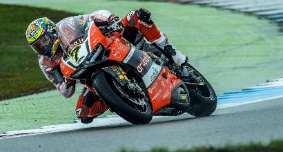 """Superbike ad Assen, Giugliano: """"Stiamo migliorando in fretta"""""""
