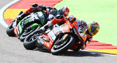 "Sbk Aragon, finalmente Davies: ""Weekend pazzesco"""