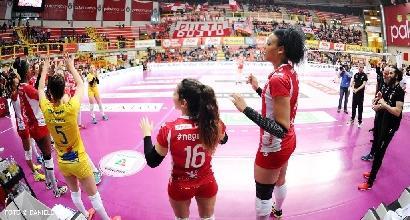 Volley, Coppa Cev: Dinamo Kazan campione, Busto Arsizio si arrende