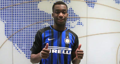 Karamoh si presenta all'Inter: