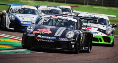 Quaresmini si laurea campione della Carrera Cup Italia 2018, a Iaquinta la finale gara 2 del Porsche Festival di Imola