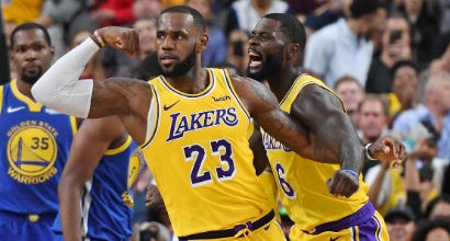 Nba, Las Vegas vuole Celtics-Lakers