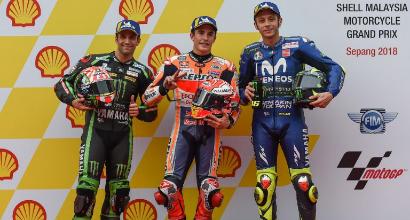"""MotoGP Malesia, Rossi: """"Contento, bel feeling anche sul bagnato"""""""
