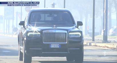 Cristiano Ronaldo al volante della Rolls-Royce Cullinan da 400mila euro