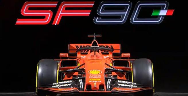 F1, svelata la Ferrari di Vettel e Leclerc: si chiama SF90