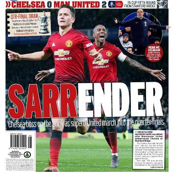 """Inghilterra, la sentenza dei tifosi del Chelsea: """"Fuck Sarriball"""""""