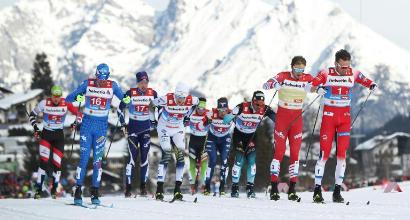 Sci di fondo, Pellegrino-De Fabiani: è bronzo nella sprint a coppie