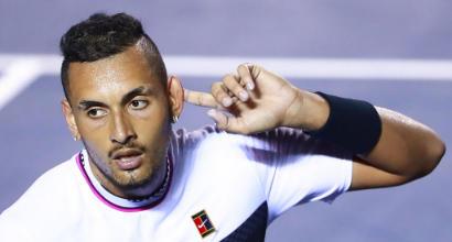Tennis: Nadal-Kyrgios, show e scintille a fine match