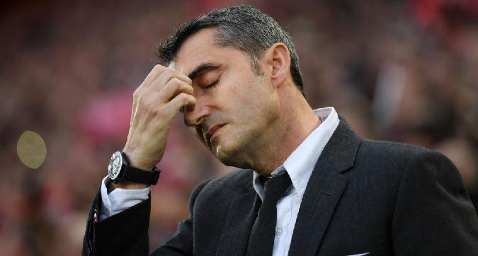 Barcellona, adesso Valverde rischia la panchina: spunta ten Hag