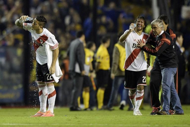 Libertadores, sospeso Boca Juniors-River Plate