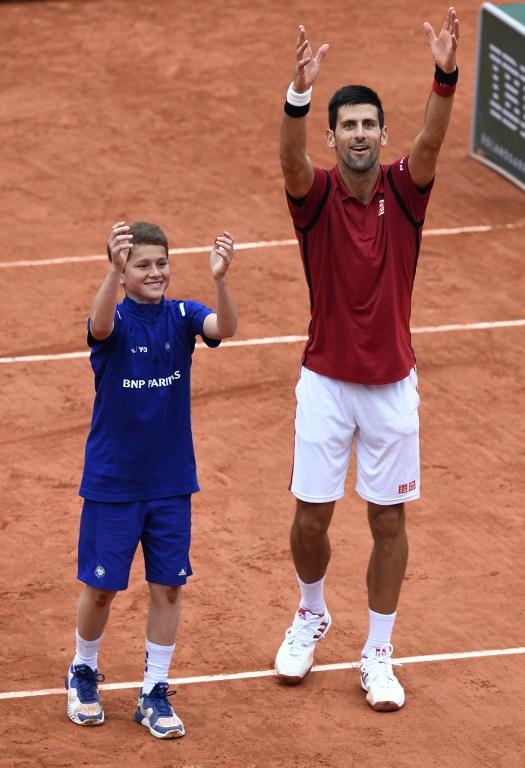 Roland Garros: Djokovic è in vena di scherzi
